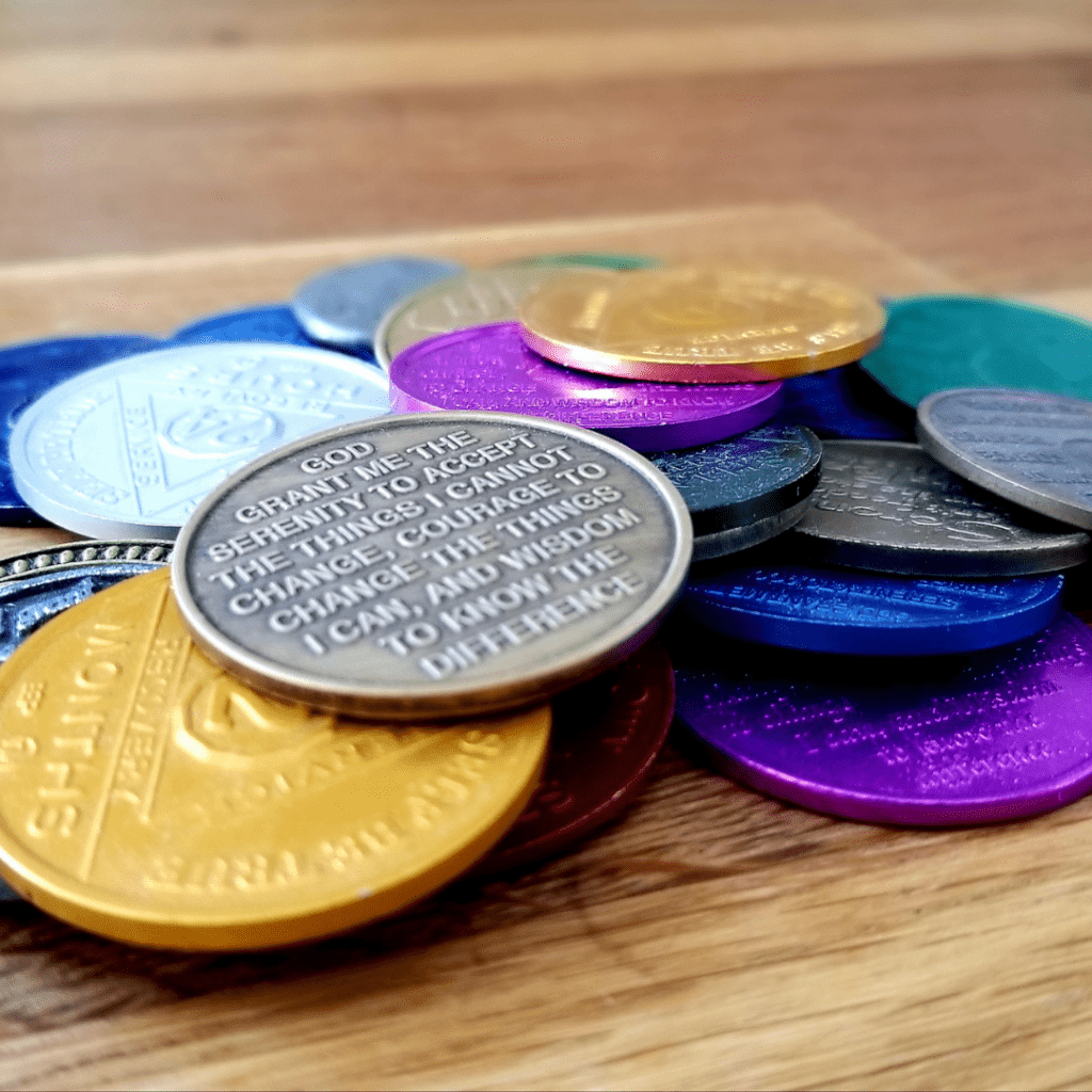 AA Recovery Coins